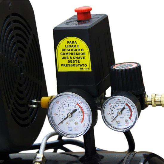 Motocompressor 25 Litros 2 HP -  - Imagem zoom