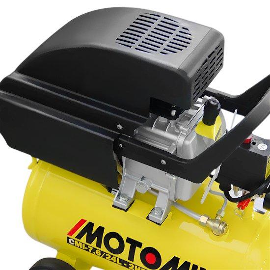 Motocompressor de Pistão Monofásico 7,6 Pés 24 Litros 2HP  - Imagem zoom