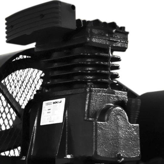 Compressor de Ar Mono 15 Pés 200 Litros 110/220V - Bravo - Imagem zoom