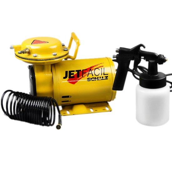 Motocompressor de Ar Mono Jet Fácil 1/3 Cv - Imagem zoom