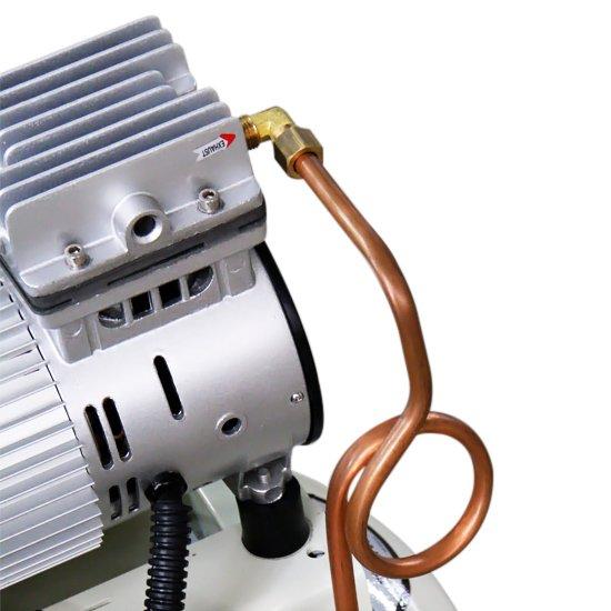 Compressor de Ar Odontológico Silencioso Mono 1HP 5PCM 30 Litros  - Imagem zoom