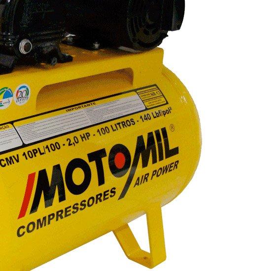 Compressor Air Power Monofásico 10 Pés 2,0HP 110/220V - Imagem zoom