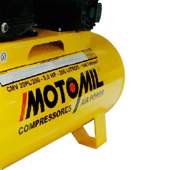 Compressor Air Power Trifásico 20 Pés 5,0 HP 220/ 380 V - Imagem zoom