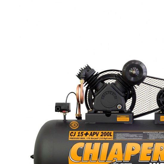 Compressor 15+PCM/APV 200 Litros Trifásico - Imagem zoom