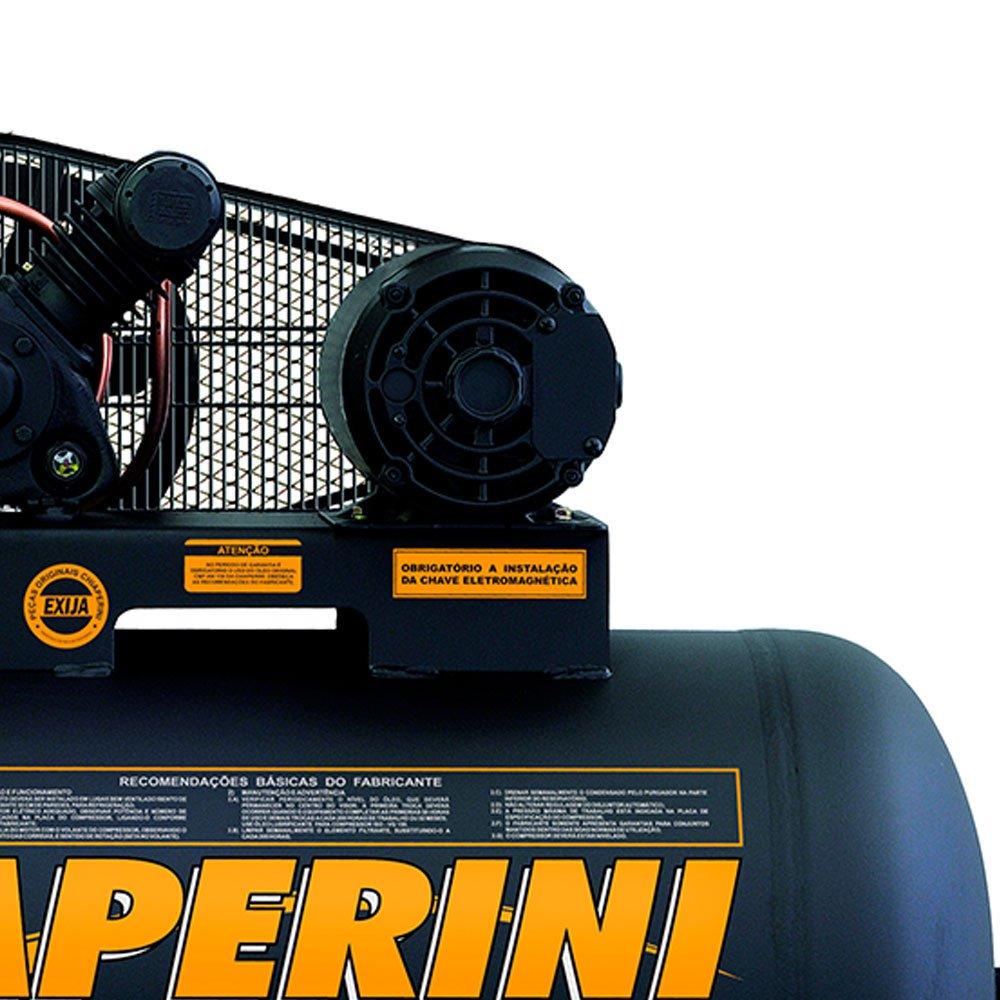 Compressor de Ar 10 PCM 2CV 150 Litros Trifásico - Imagem zoom