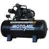 Compressor de Ar Profissional 15 Pés 3,0HP 175 Litros Bivolt 110/220V Mono - Imagem 1