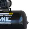 Compressor de Ar Profissional 15 Pés 3,0HP 175 Litros Bivolt 110/220V Mono - Imagem 3