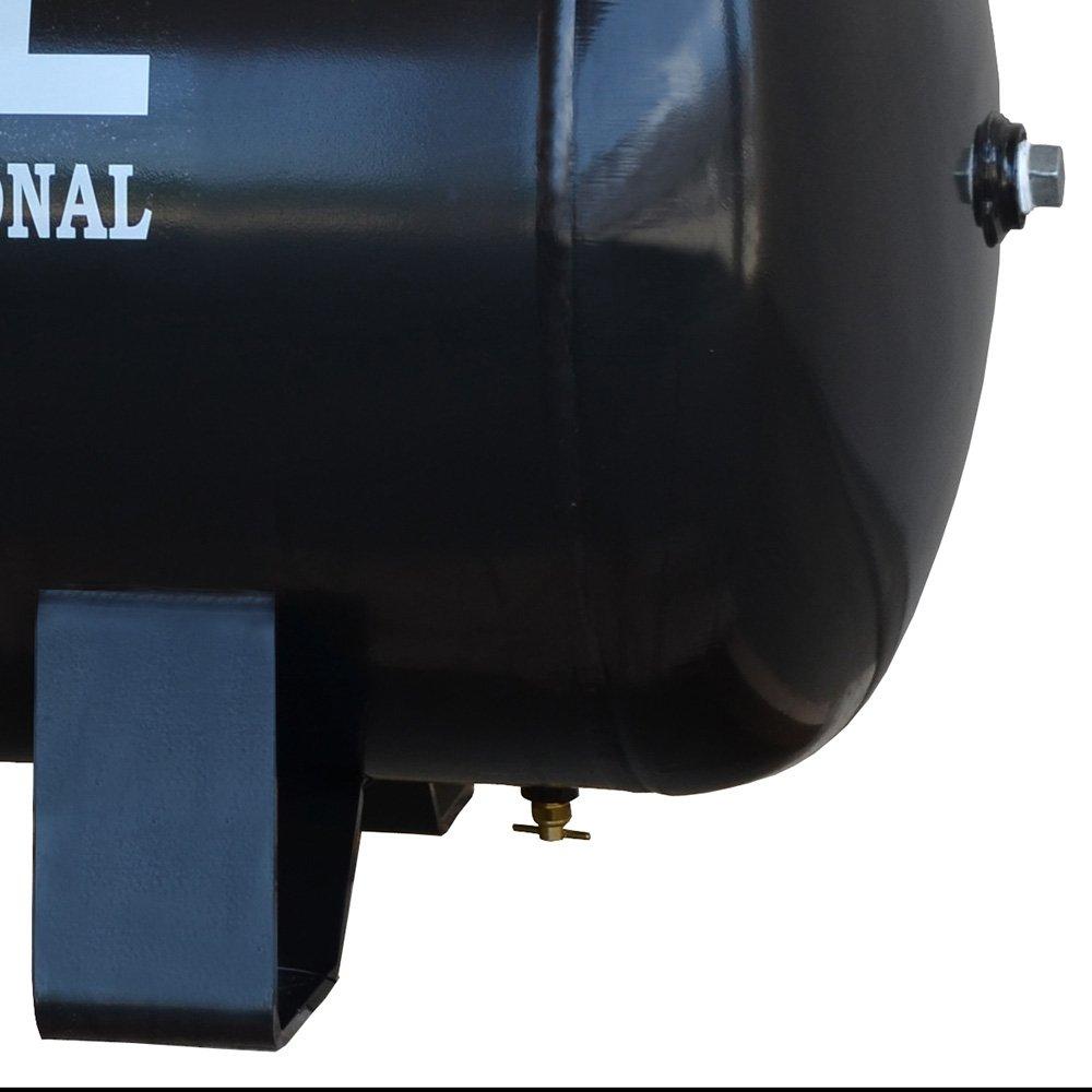 Compressor de Ar Profissional 15 Pés 3,0HP 175 Litros Monofásico Bivolt - Imagem zoom