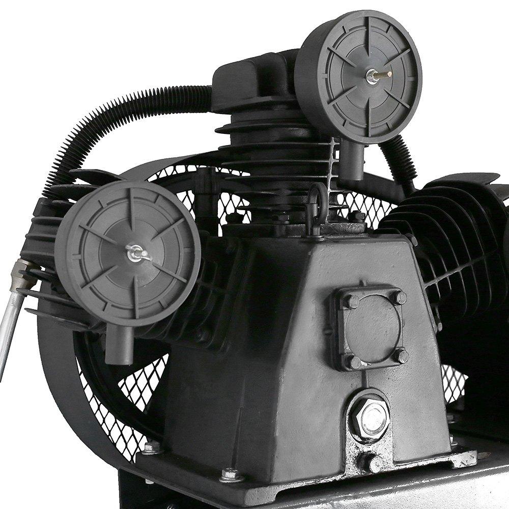 Compressor de Ar BullDog Trifásico 20 Pés 200 Litros 220/380V - Imagem zoom