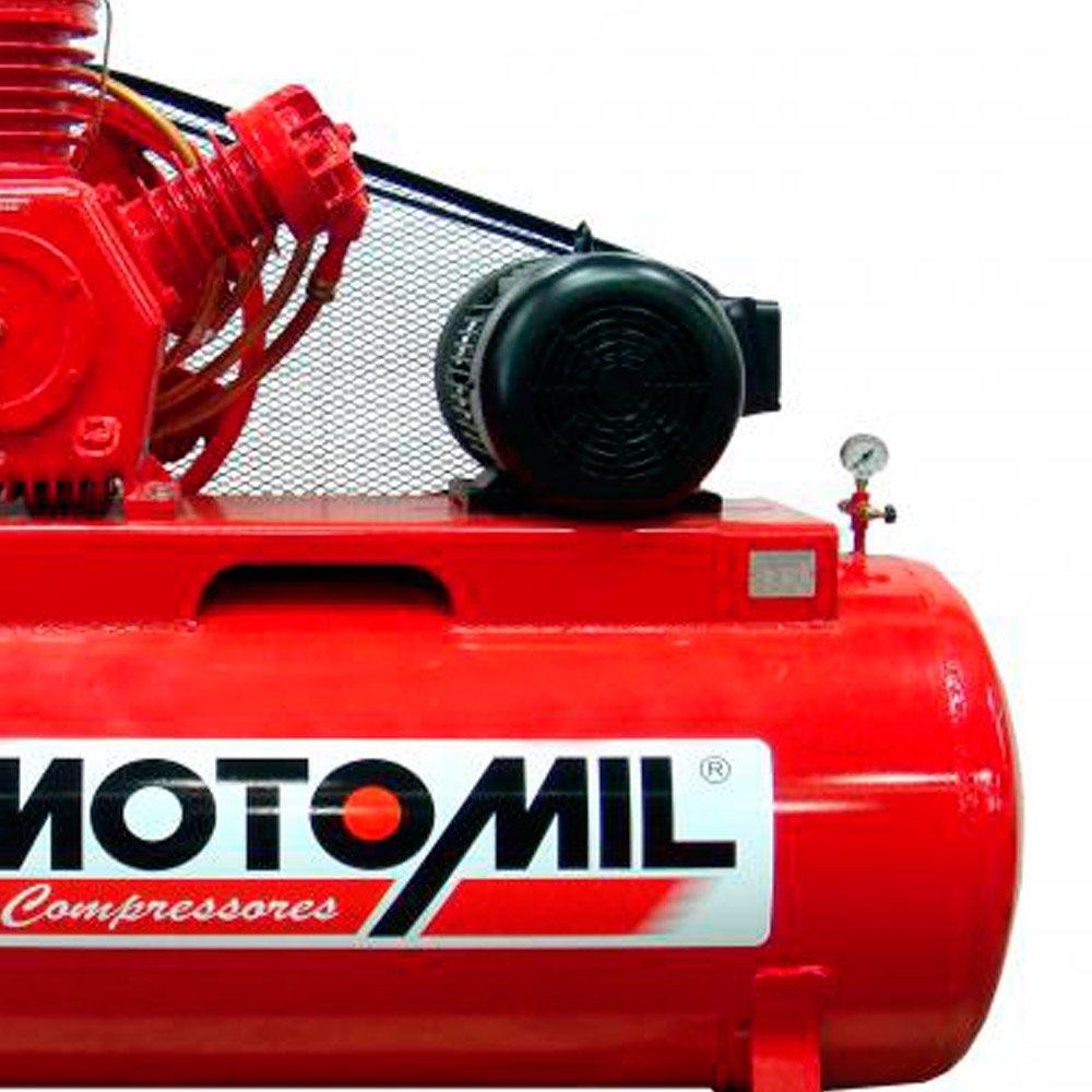 Compressor de Ar Industrial 3 Pistões 15 HP Trifásico 220/380 V - Imagem zoom