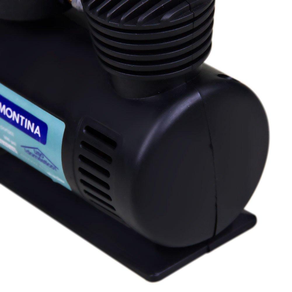 Compressor de Ar Portátil 12V 50W - Imagem zoom