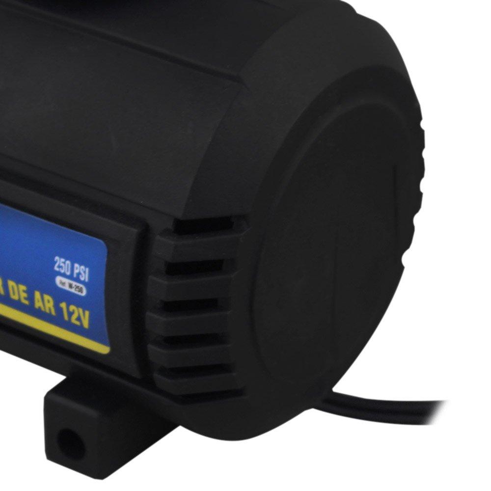 Mini Compressor de Ar 12V 250PSI - Imagem zoom