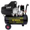 Motocompressor 2HP 8,5 Pés 25 Litros  - Imagem 1