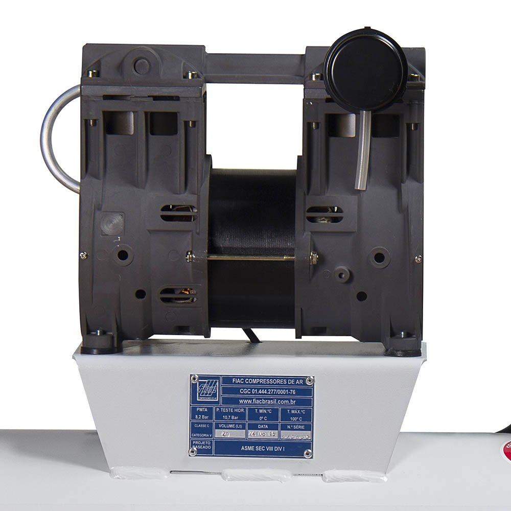 Compressor Odontológico Isento de Óleo 30 Litros 6PCM  - Imagem zoom