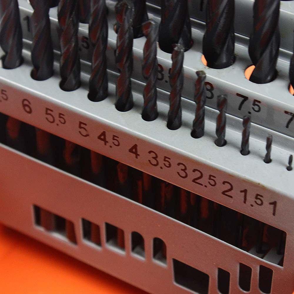 Kit Furadeira Dewalt DWD502  + Jogo de Brocas FortG Pro FG8760 - Imagem zoom