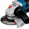 Esmerilhadeira Angular 4.1/2 Pol. a Bateria 18V Lítio com Carregador 220V e 2 Baterias - Imagem 2