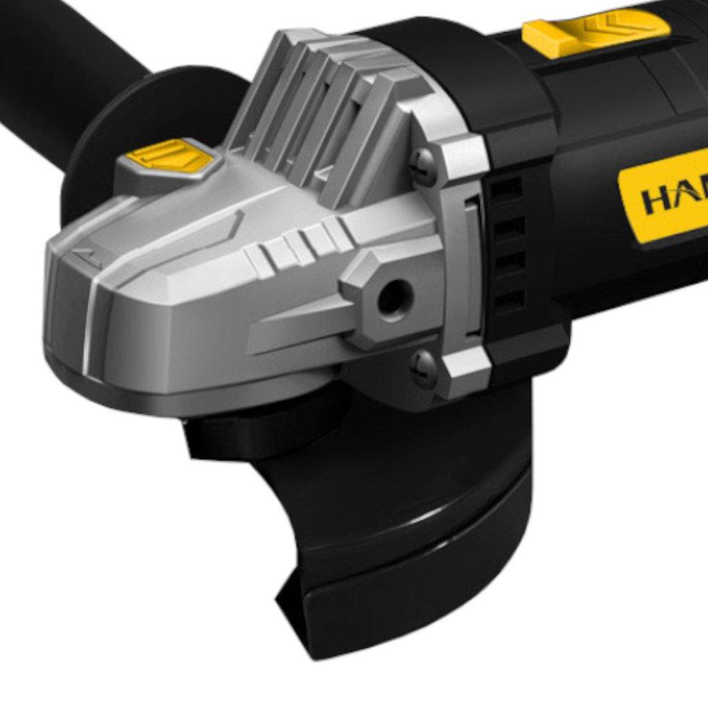 Kit Esmerilhadeira Angular Hammer EM710 4.1/2 Pol. 710W  + 10 x Discos de Corte 115 x 3mm FG034 - Imagem zoom
