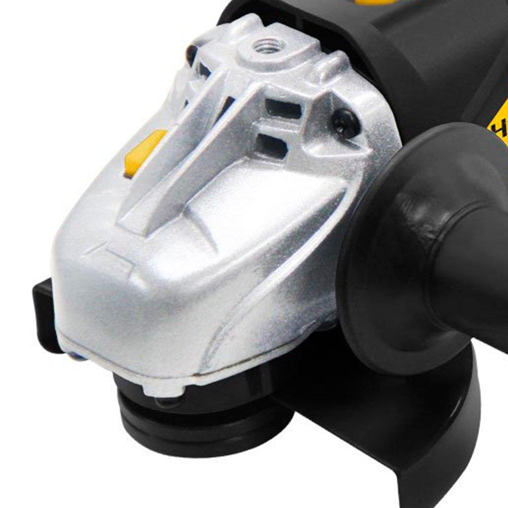 Kit Esmerilhadeira Angular 4.1/2 Pol. 710W  Hammer EM710 + 10 x Discos de Corte Fino 4.1/2 Pol. 115 x 1.0 x 22mm FG035 - Imagem zoom