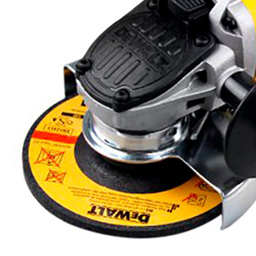 Kit Esmerilhadeira Angular de 4.1/2 Pol. 900W 110V Dewalt DWE4120 + 20 x Discos de Corte Fino de Aço Inox 4.1/2 Pol. FG035 - Imagem zoom