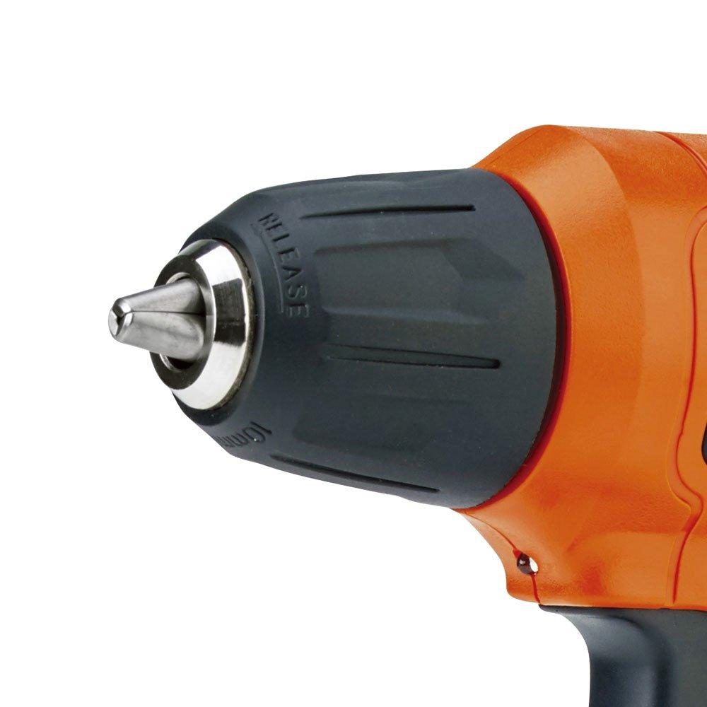 Parafusadeira/Furadeira Vel. Variável e Reversível 3/8 Pol. a Bateria 12V 1,5A Lition + 13 Acessórios + Estojo - Imagem zoom