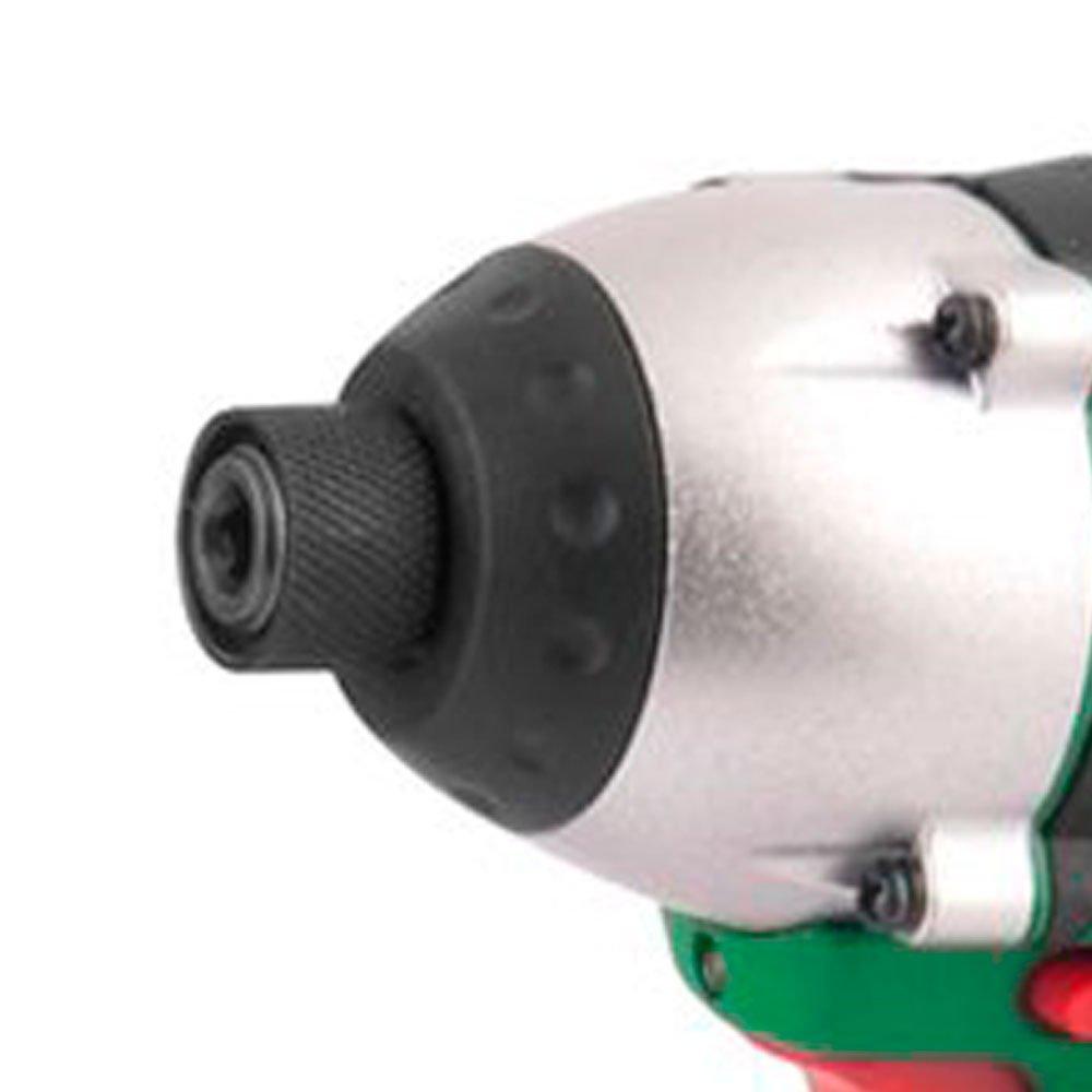 Combo Parafusadeira/Furadeira + Parafusadeira de Impacto com 2 Baterias 10,8V Li-Ion Carregador e Maleta - Imagem zoom