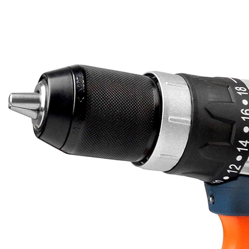 Parafusadeira /Furadeira de Impacto a Bateria 20V Lítio 1/2 Pol. com Maleta e Carregador Rápido - Imagem zoom