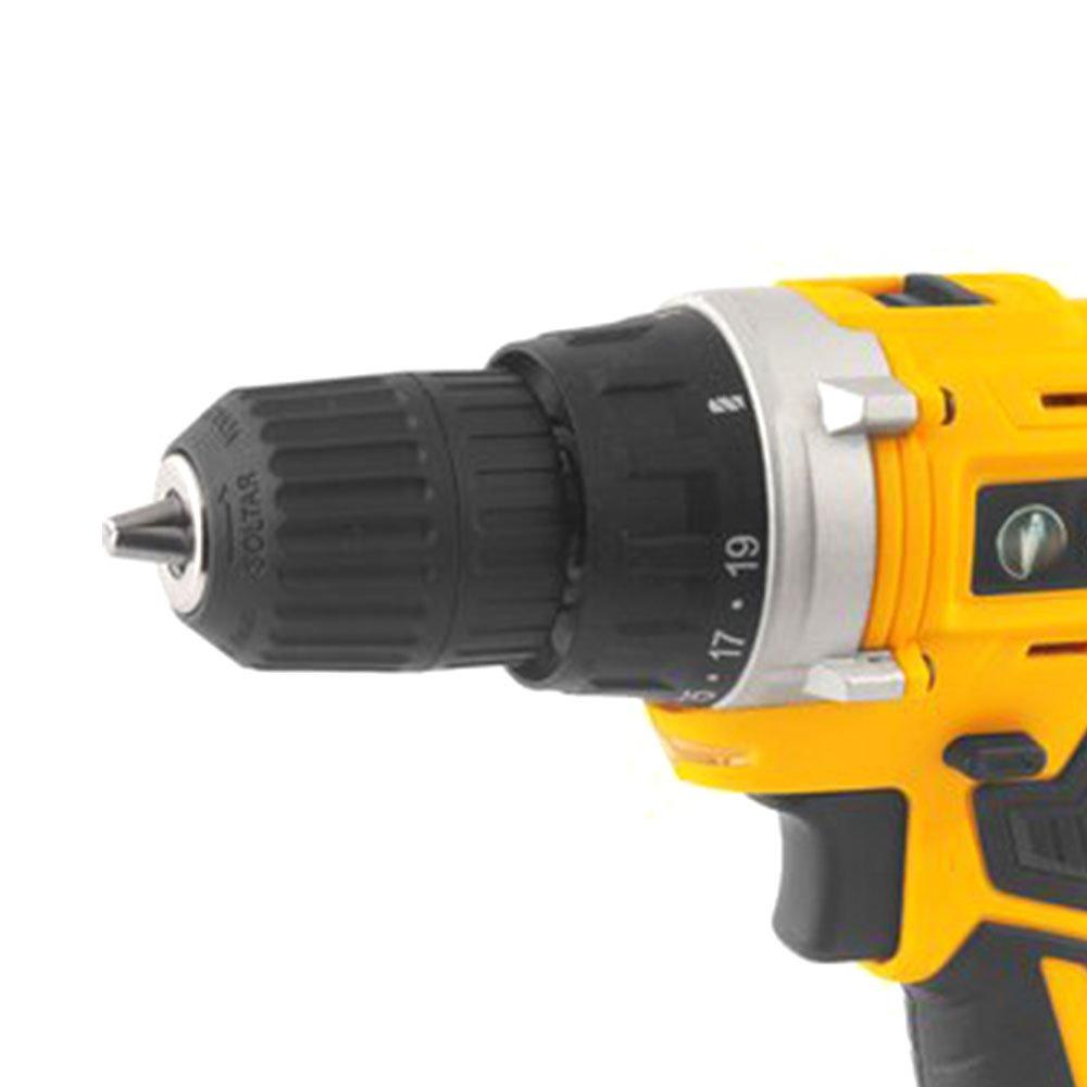 Parafusadeira/Furadeira a Bateria 18V  3/8 Pol. sem Bateria com Maleta IPFV18  - Imagem zoom