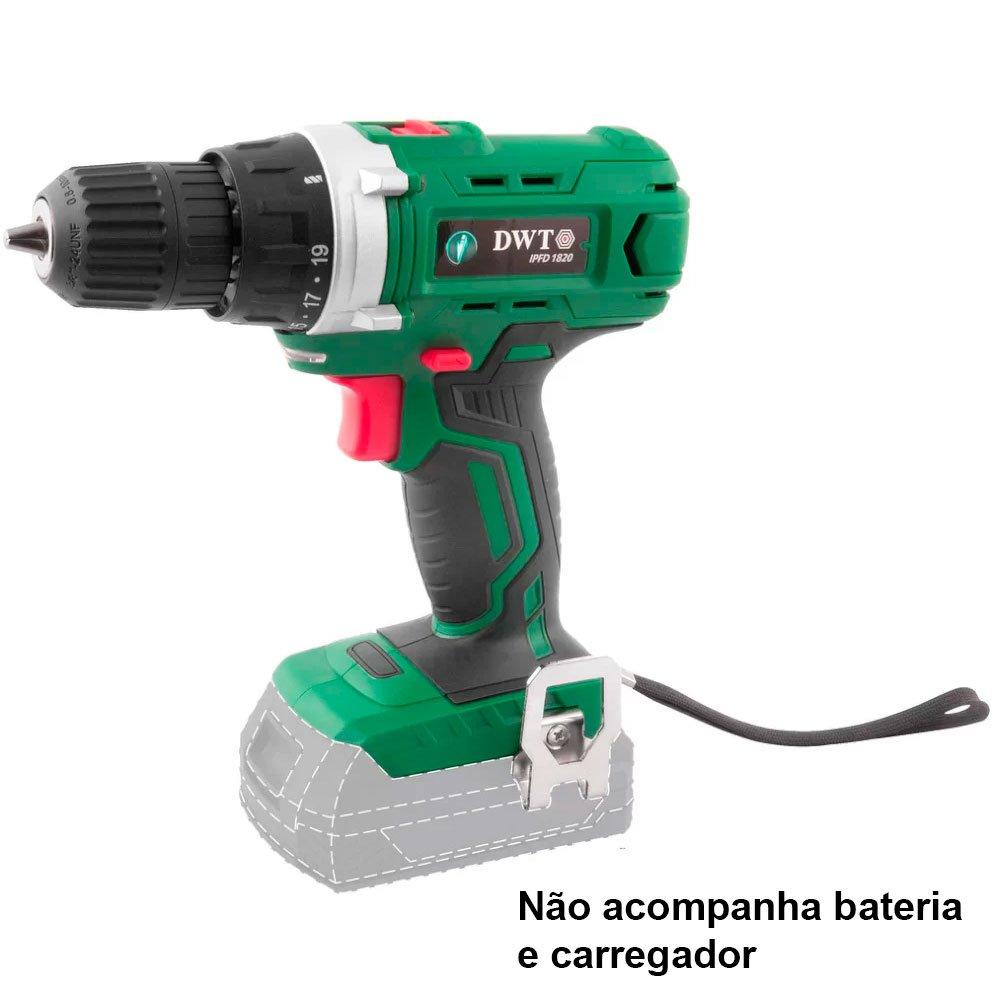 Parafusadeira/Furadeira a Bateria 18V 3/8 Pol. sem Carregador e Bateria - Imagem zoom