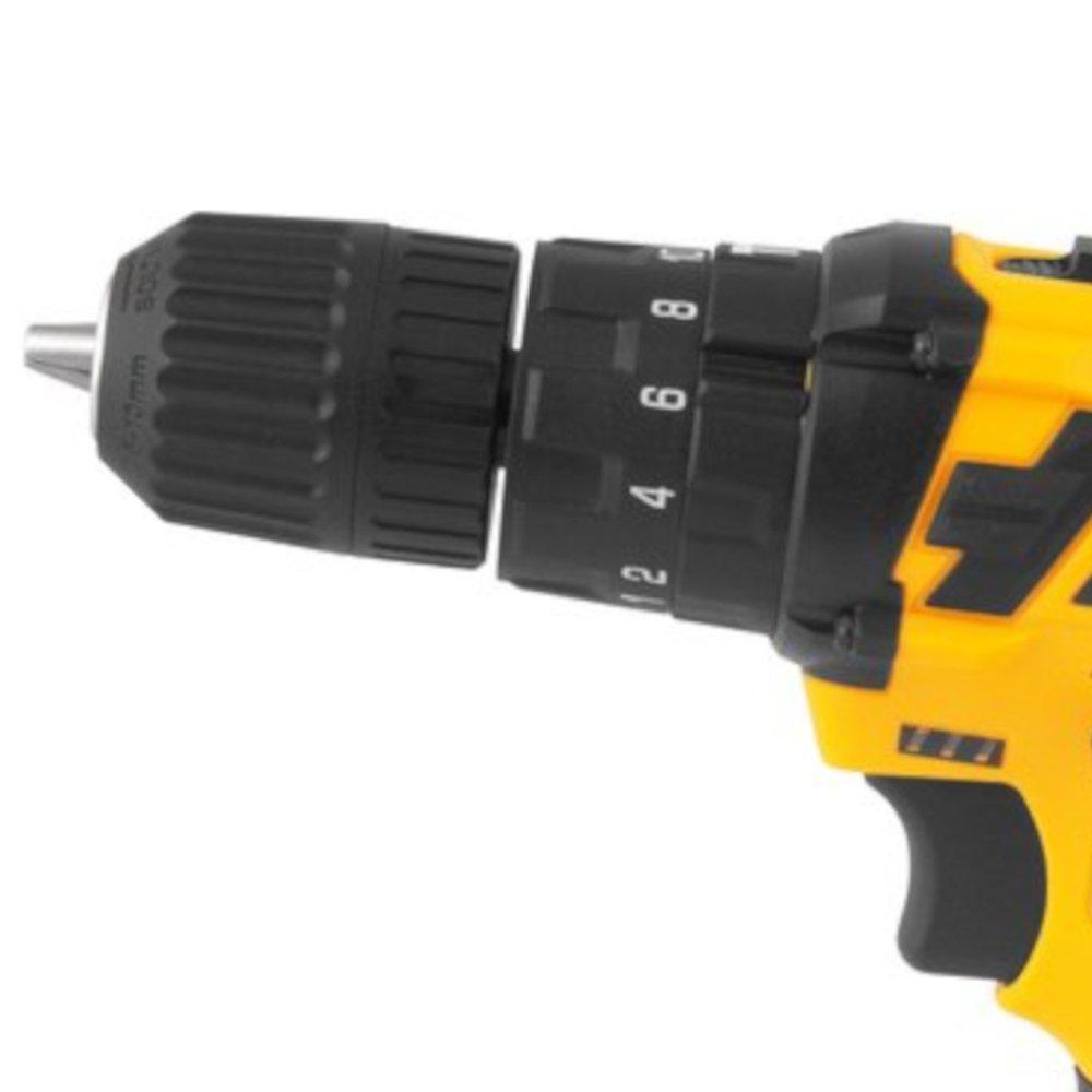 Parafusadeira/Furadeira de Impacto 12V 1,3Ah com Bateria, Carregador Bivolt e Maleta com 17 Acessórios - Imagem zoom