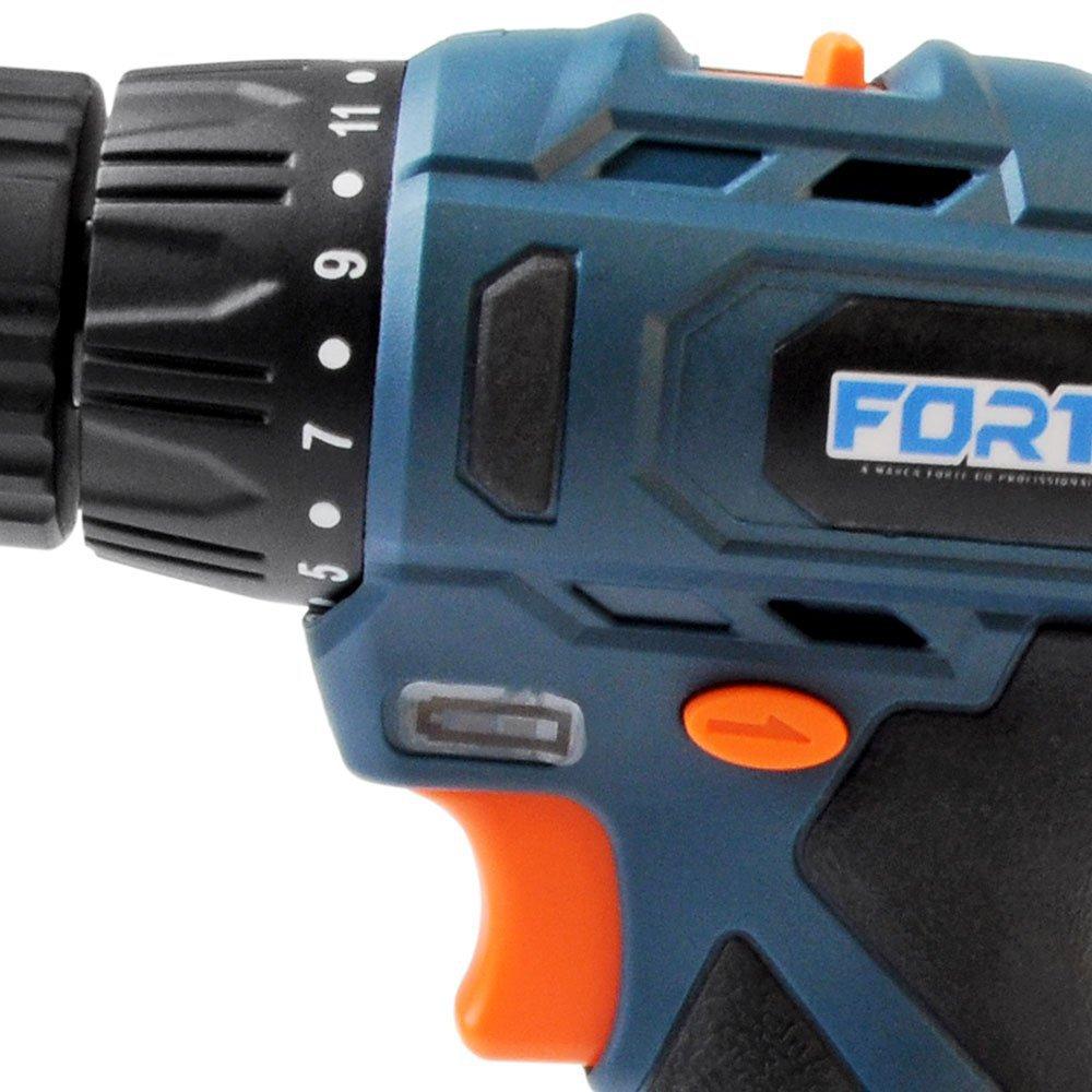 Kit Parafusadeira/ Furadeira FG3002 a Bateria 12V Lition + Bateria de Íons de Lítio FG3440 12V 1,3Ah - Imagem zoom