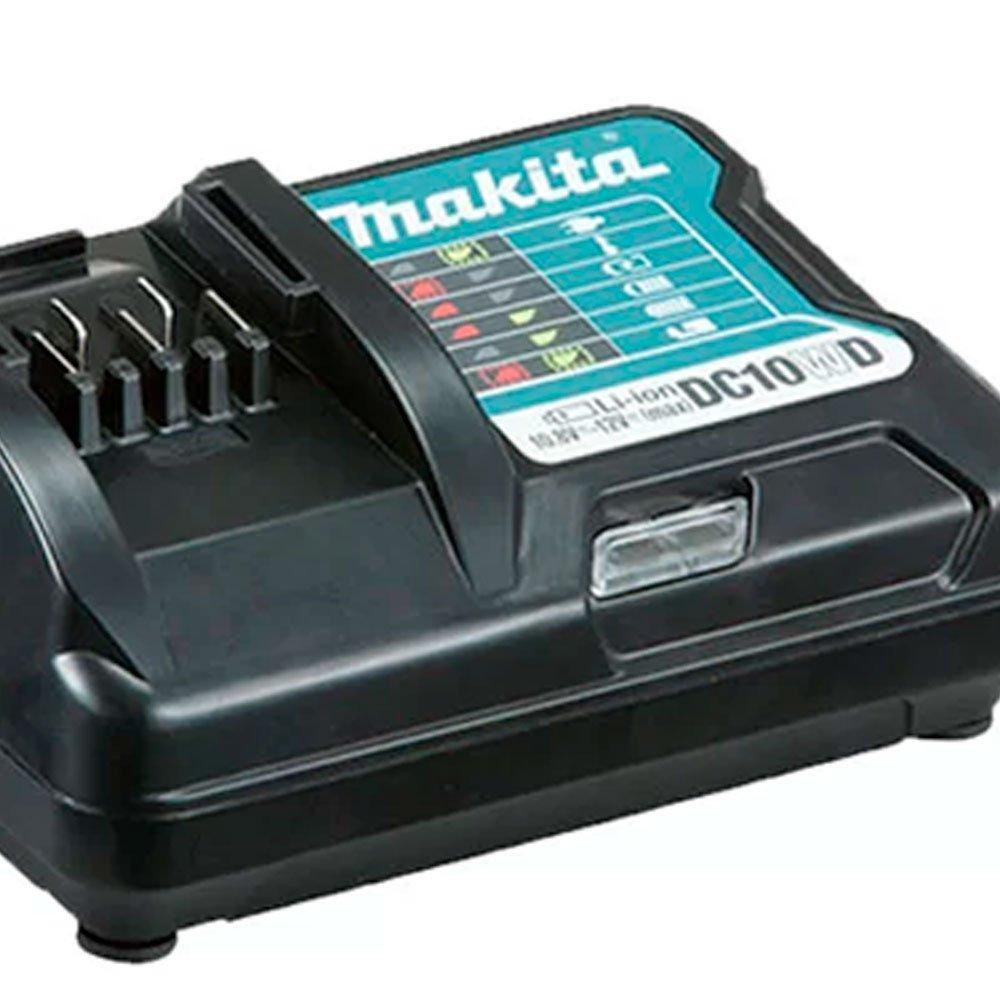 Kit Parafusadeira/ Furadeira de Impacto 12V MAKITA-HP333DWYX3 + Bateria Max 1.5 Ah BL1016 - Imagem zoom