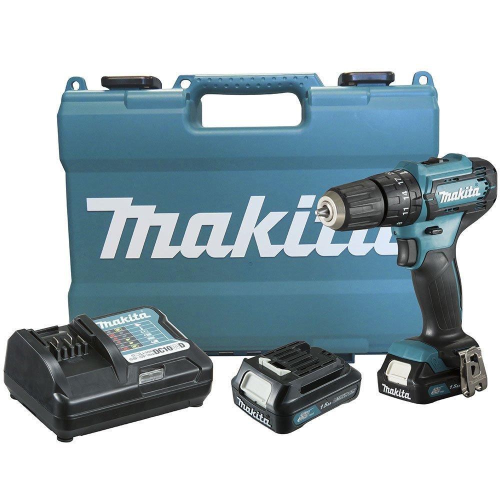 Kit Furadeira/ Parafusadeira de Impacto 12V MAKITA-HP333DWYE + Bateria Max 4.0 Ah BL1041B - Imagem zoom