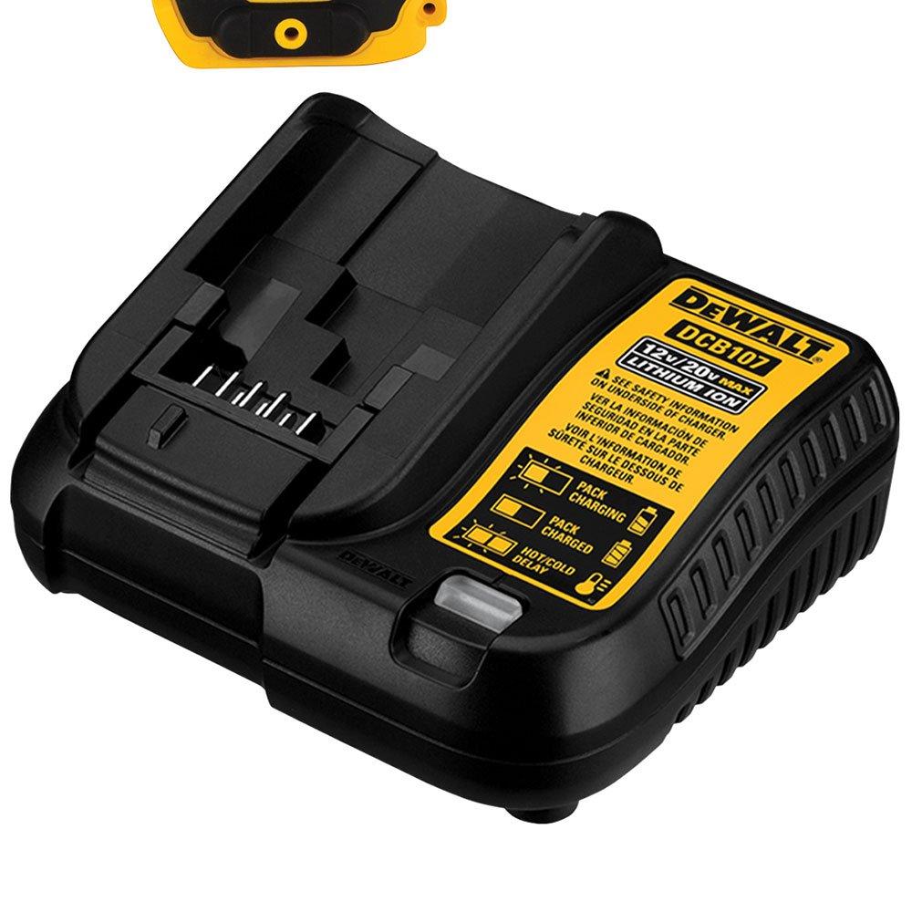 Combo Parafusadeira/Furadeira de Impacto DCD716 + Parafusadeira de Impacto DCF805 a Bateria 12V com Carregador 2 Bat. e Caixa - Imagem zoom