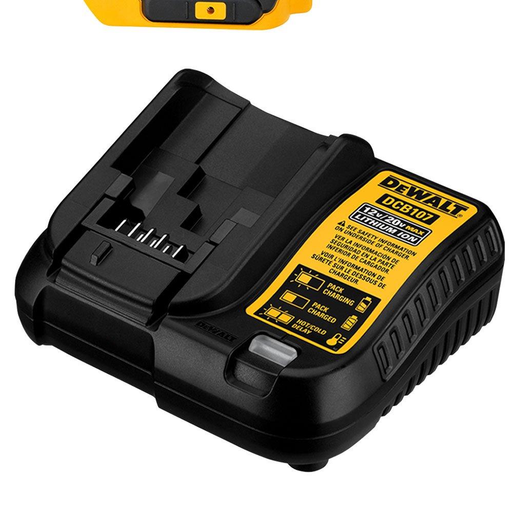 Combo Parafusadeira/Furadeira de Impacto DCD776 + Parafusadeira de Impacto DCF885 a Bateria com Carregador 2 Baterias e Caixa - Imagem zoom