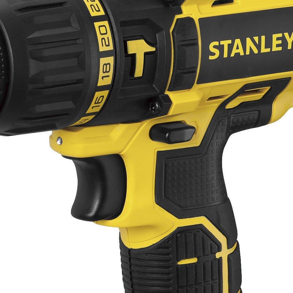 Kit Parafusadeira Stanley SCH20C2K 1/2 Pol. 20V com 2 Baterias 20V Lítio 1,3Ah + Jogo de Bits Mini X- Line Bosch 2607017400-000 25 Peças - Imagem zoom