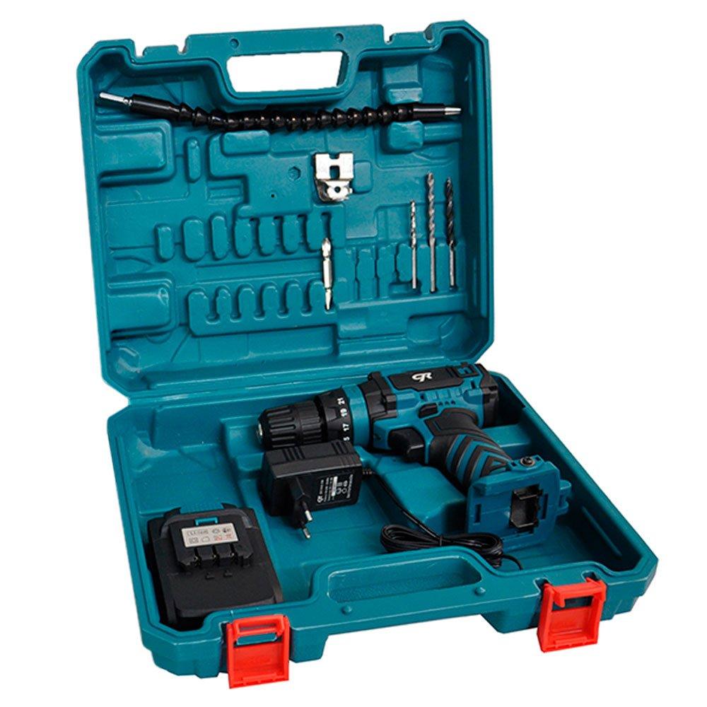 Parafusadeira/Furadeira de Impacto a Bateria 20V 3/8 Pol. com Carregador Bivolt Maleta e Acessórios - Imagem zoom