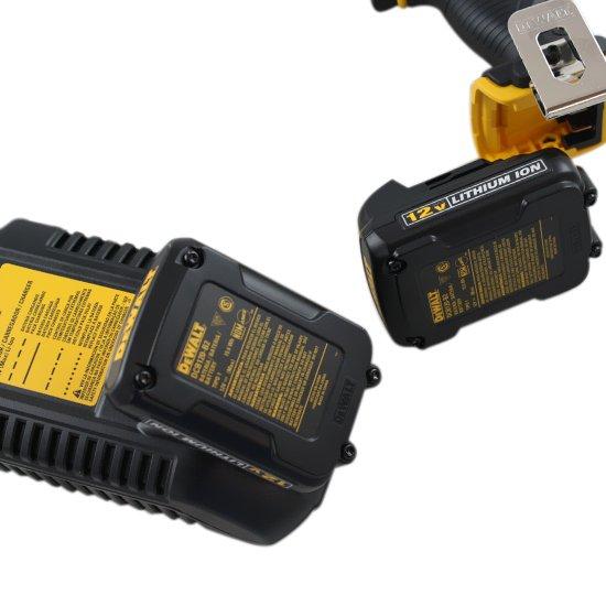 Parafusadeira à Bateria 12V 1,3Ah 1/4 Pol. Li-Ion - Imagem zoom