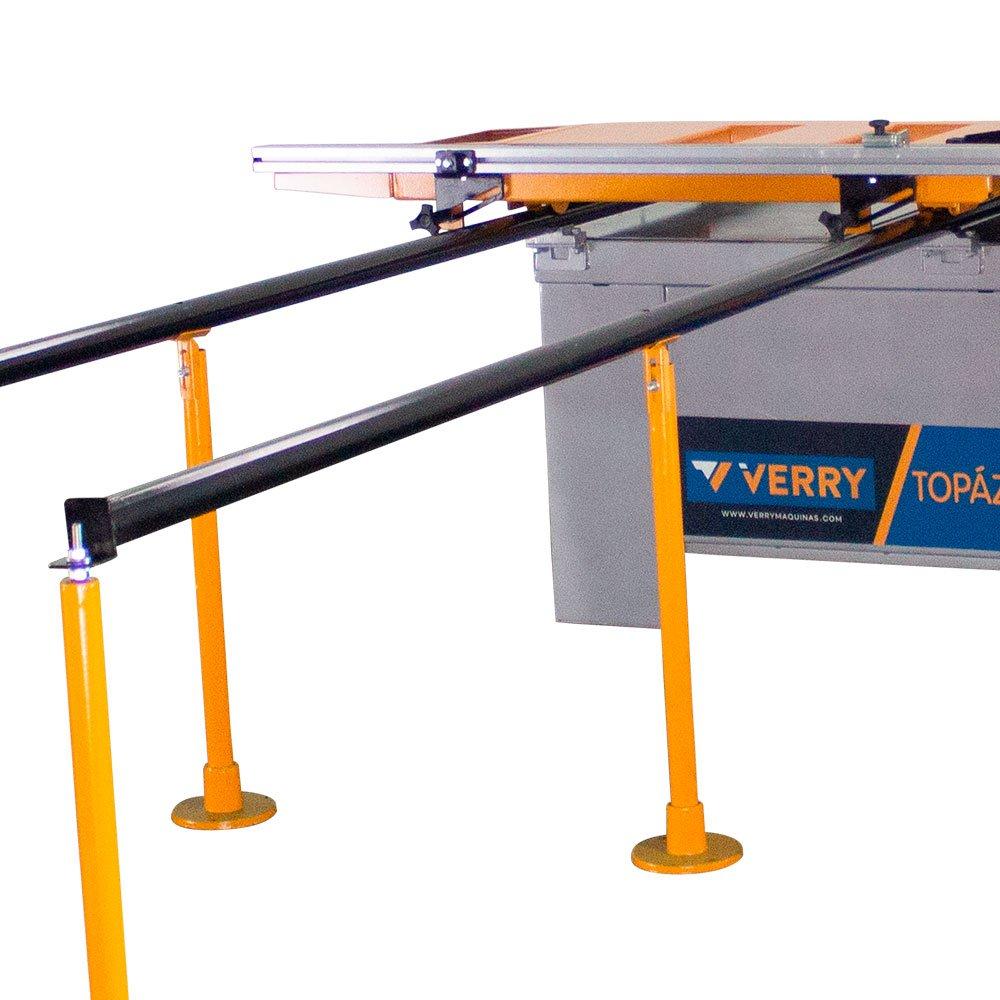Esquadrejadeira 3000mm com Eixo Inclinável e Riscador 2,2 KW 3CV Trifásico  - Imagem zoom