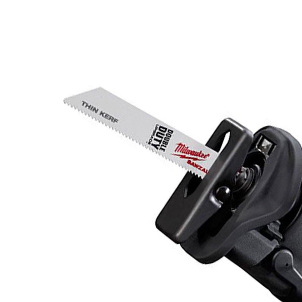 Serra Sabre M18 Fuel com Bateria 18V 4,0Ah, Carregador Multivoltagem e Lâmina - Imagem zoom
