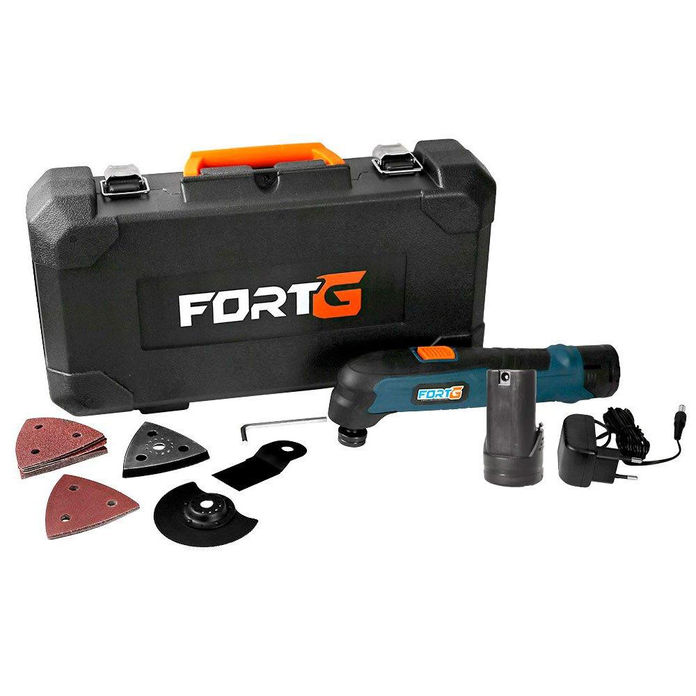 Kit Multicortadora Oscilante FG6600 12V com Acessórios + Bateria de Íons de Lítio FG3440 12V 1,3Ah  - Imagem zoom