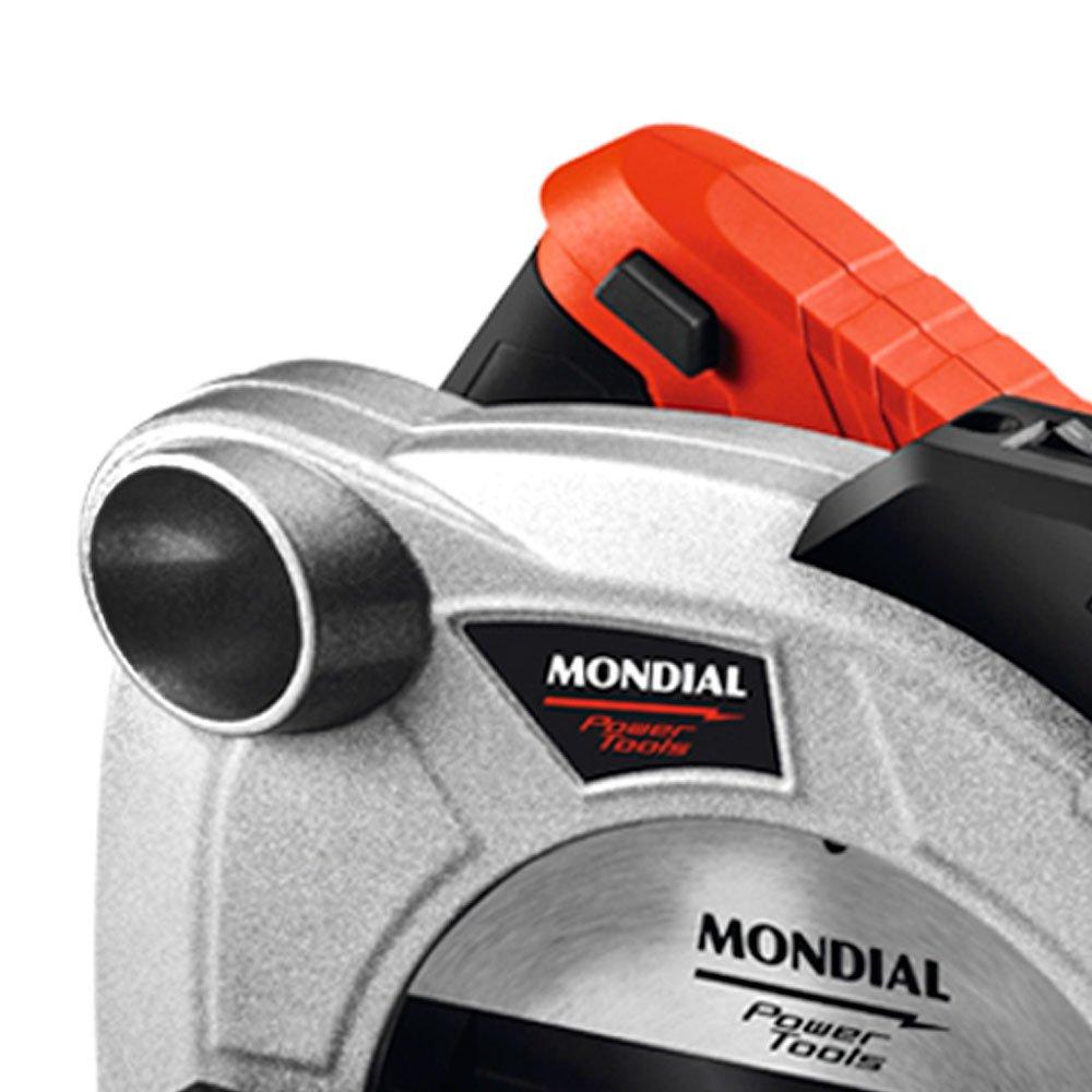 Serra Circular 7.1/4 Pol. 185mm 1200W  com Disco de Corte e Guia Laser - Imagem zoom
