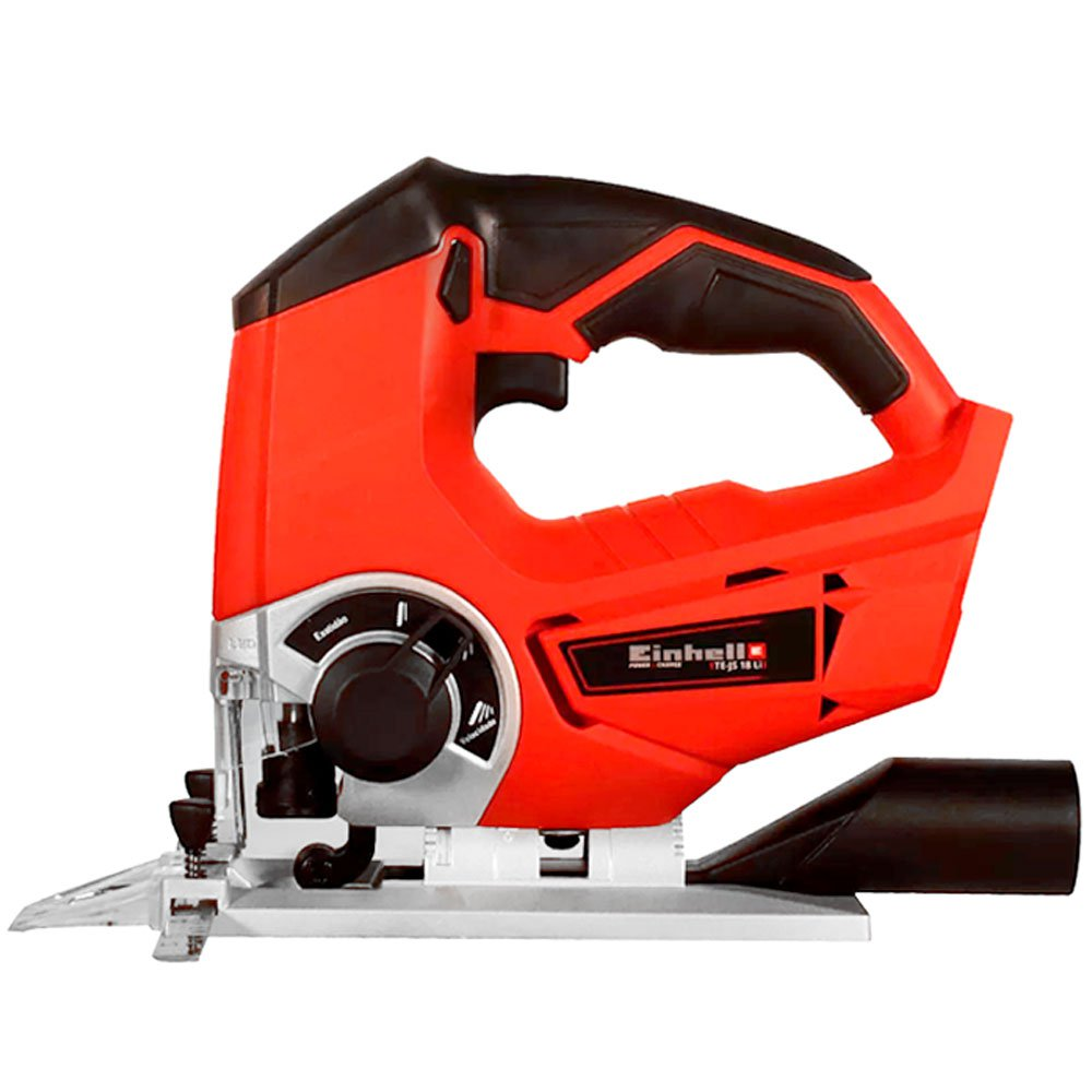 Kit Serra Tico-Tico EINHELL-TE-JS18LI-SOLO 2400gpm 18V + Kit Bateria 18V 4.0 com Carregador 18V EINHELL-4512106 Bivolt  - Imagem zoom