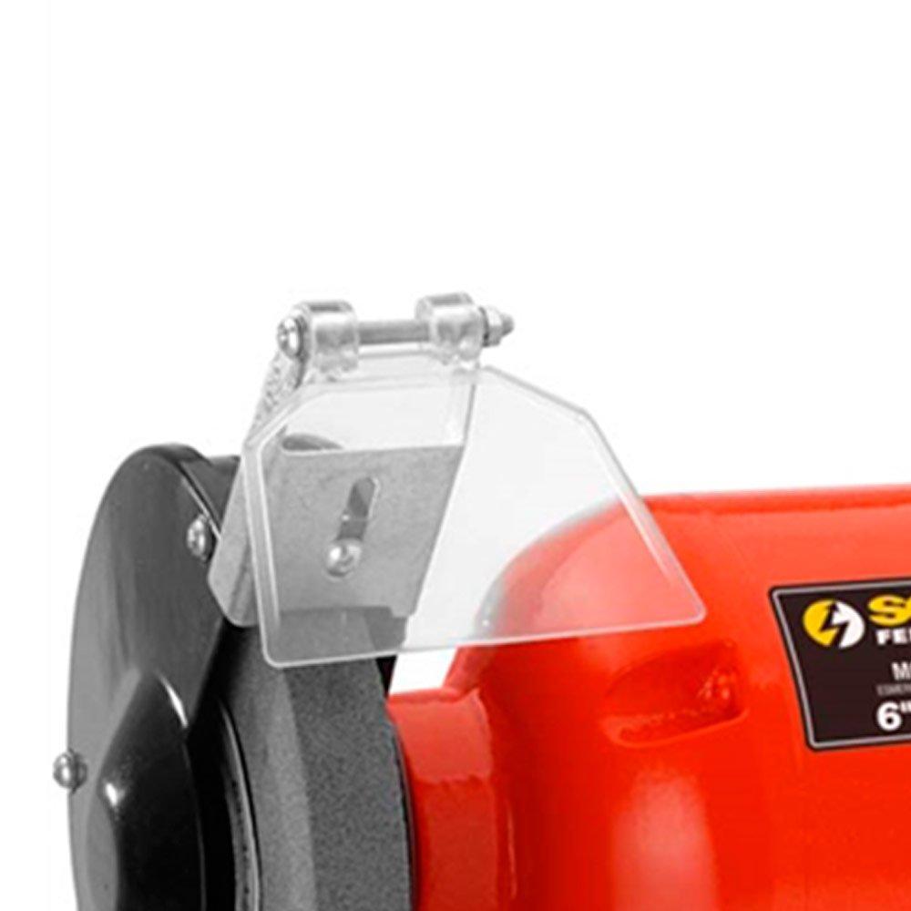 Moto Esmeril de Bancada 6 Pol 300W  - Imagem zoom