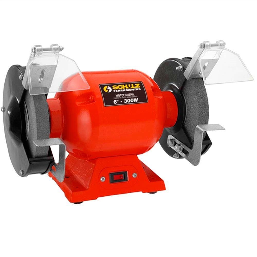 Kit Moto Esmeril de Bancada 6 Pol. 300W  Schulz 911025 + Alicate de Pressão 10 Pol. - Imagem zoom
