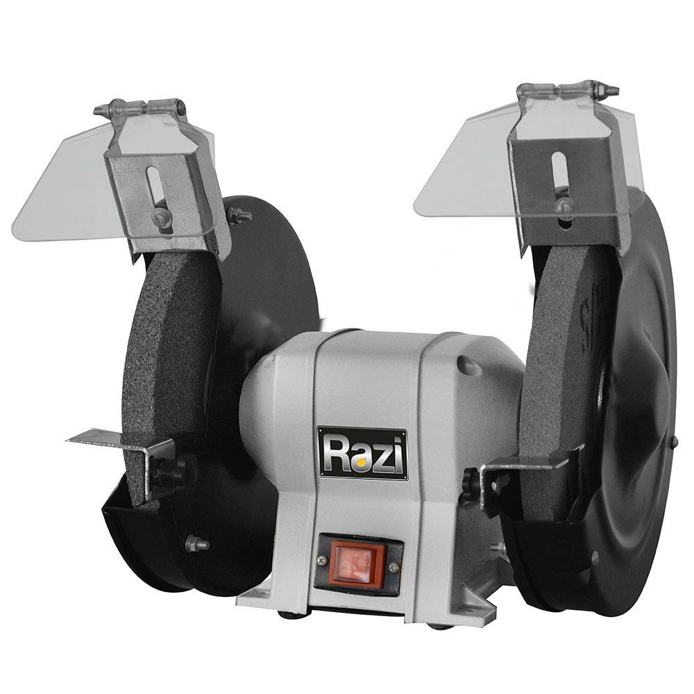 Moto Esmeril 8 Pol. 550W  com Base em Ferro Fundido - Imagem zoom