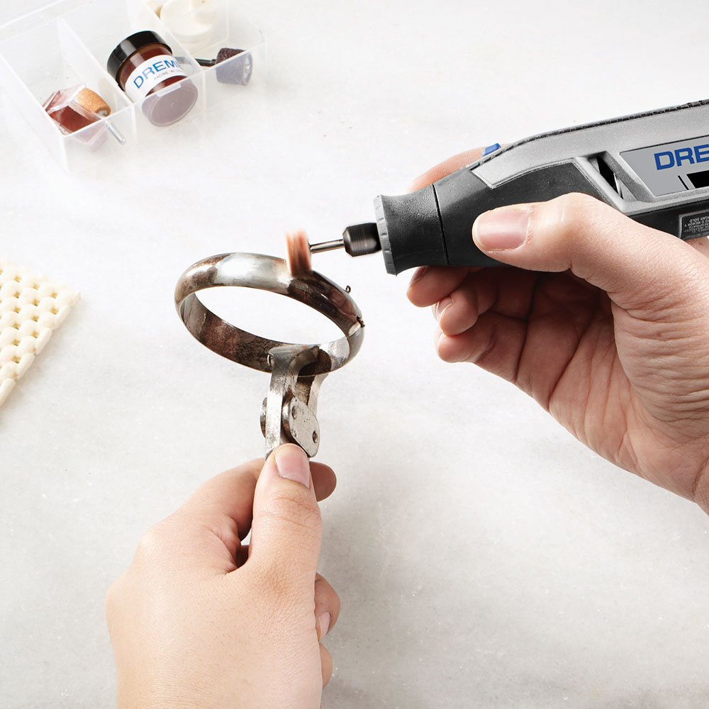 Microrretífica Lite a Bateria de Lítio 4V Max com 10 Acessórios - Imagem zoom