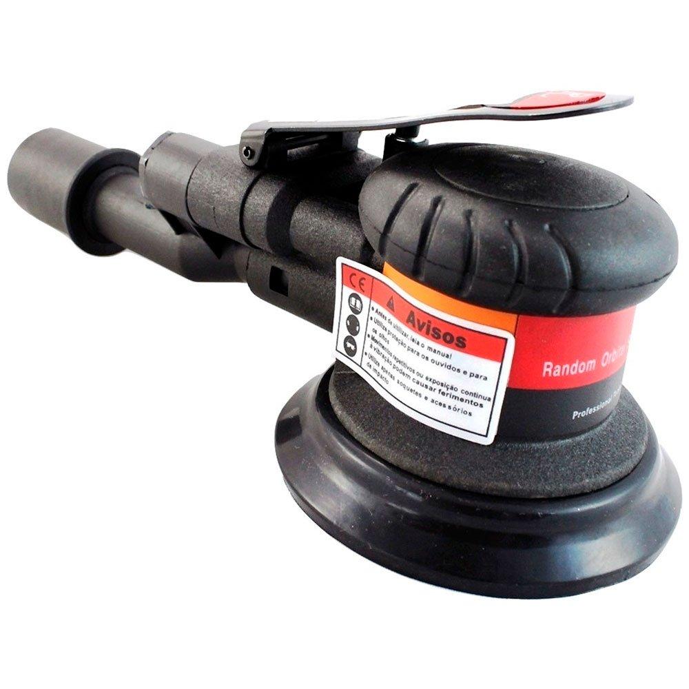 Lixadeira Pneumática com Aspiração Central  1/4 Pol.  - Imagem zoom