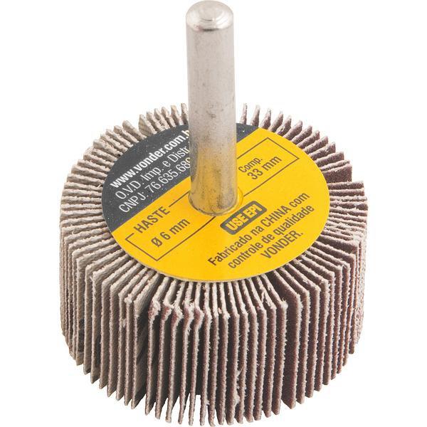 Roda de lixa 40 mm x 20 mm com haste, grão 220 VONDER - Imagem zoom
