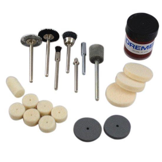 Kit para Limpar e Polir com 20 Peças - Imagem zoom
