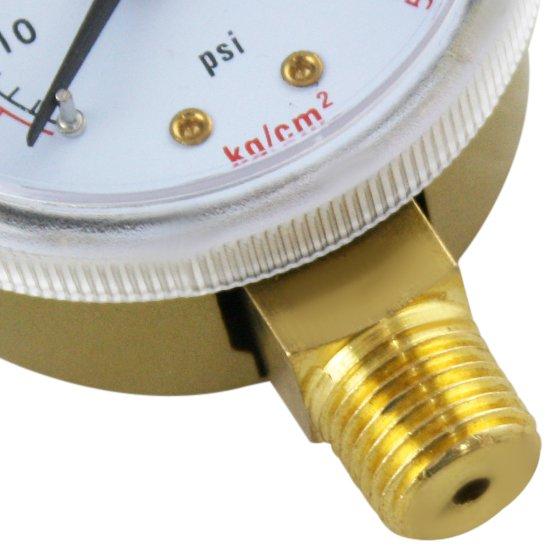 Manômetro para Cilindro de Acetileno - Imagem zoom